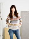 Sweater med melerede striber-PDF