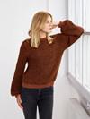 Berlin - Sweater med vaffelmønster