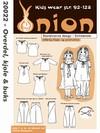 Snitmønster, Overdel, kjole & buks