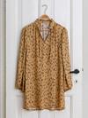 Snitmønster, Skjortekjoler med flæsekrave