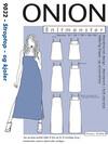 Snitmønster,  Plus-størrelser, Stroptop - og kjoler
