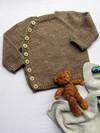 Babytrøje med skrålukning
