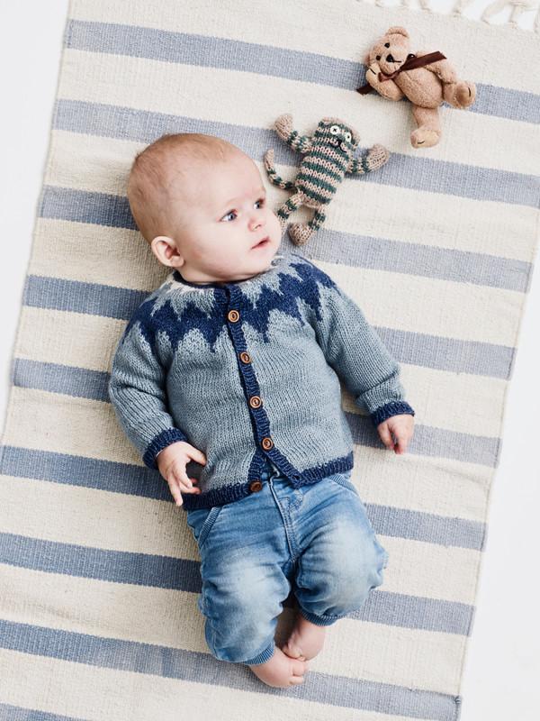 e9937f95e68 Babytrøje med nordisk mønster(baby) - Onion ApS