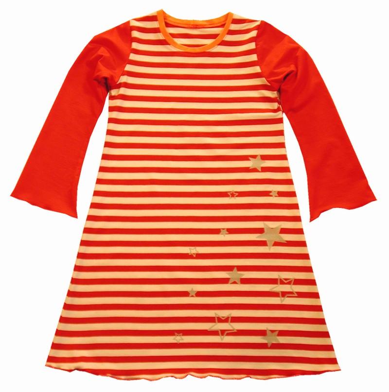 snitmønster kjole børn
