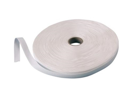 Bændel hvid 1 cm rulle a 50 mtr.