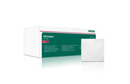 Klinion, non woven kompres Cleanbox, 4 lag usteril