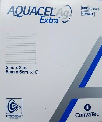 AQUACEL AG Extra 5x5 cm 10 stk/æske