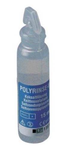 Natriumklorid, 0,9%, Polyrinse-U, pipetteflaske