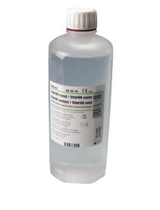 Fresenius, sterilt destilleret vand 1000 ml