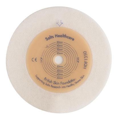 SALTS Harmony Duo Plade Flexibel med hydrocolloid kantsikring, 10 stk/æske