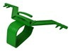 Urinposestativ, grøn 2-dels 1 stk.