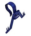 Urinposestativ, blå nylon