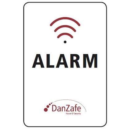 DanZafe Alarm klistermærke