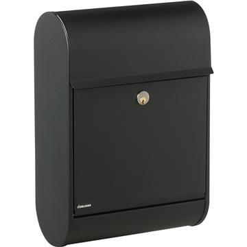 Juliana postkasse 8900S sort m/rukolås