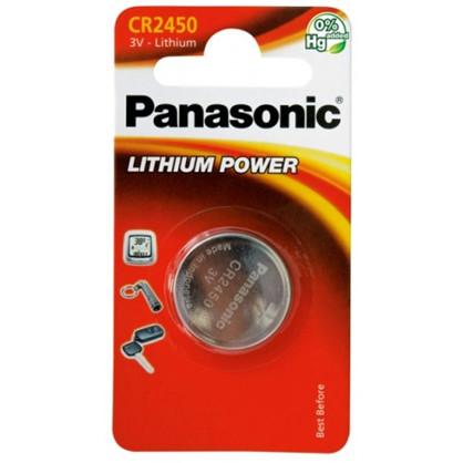 Panasonic CR2450 - 3V lithium knapcelle batteri