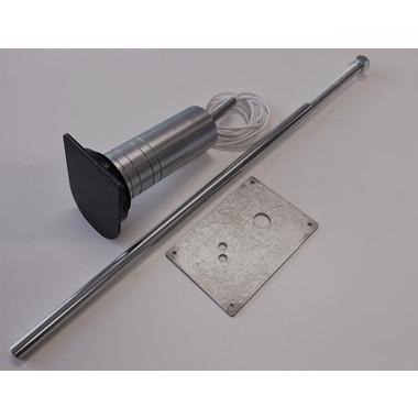 MVR 8000 nøglerør til ovalcyl., m. ankerplade & sabotage