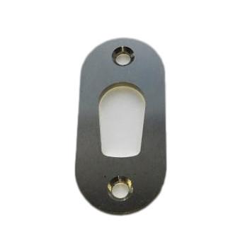 Lockit cylinderring 1514 t/1614 møbellås - Rustfri