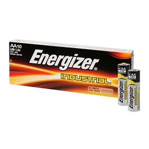 Energizer batteri AA industrial pk. á 10 stk.