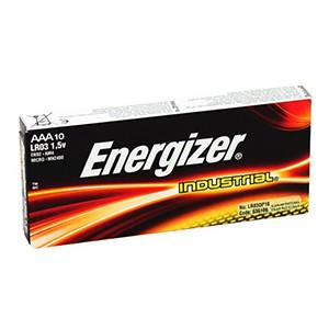 Energizer batteri AAA industrial pk. á 10 stk.