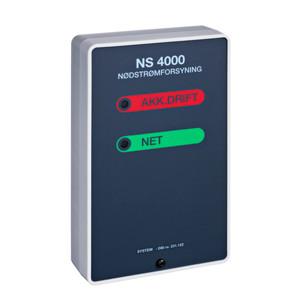 Dorma ABDL NS 4000 nødstrømforsyning