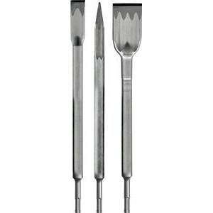 Heller SDS-PLUS mejselsæt 3 stk. spids/spade/fladmejsel