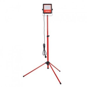 Voltage led arbejdslampe 30W accu inkl. stander