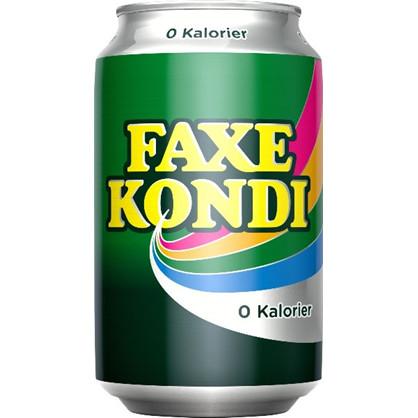Faxe kondi 0 kalorier, 33 cl