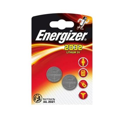 Energizer batteri CR2032 - 2stk.