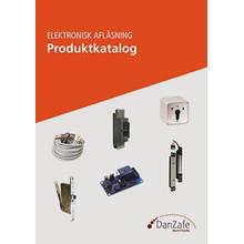 DanZafe produktkatalog Elektronisk aflåsning