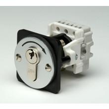 Geba nøgleafbryder frontmonteret, 1 puls