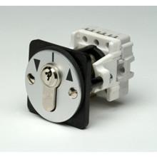 Geba nøgleafbryder frontmonteret, 2 puls