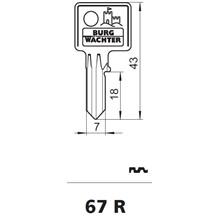 Burg Wächter nøgleemne 67R