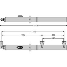 BFT P 4,5 drejeportsåbner