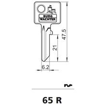 Burg Wächter nøgleemne 65R