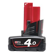 Milwaukee M12 B4 batteri 12V 4,0 Ah