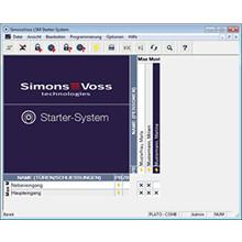 SimonsVoss LSM Starter software