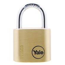 Yale lås Standard Mess, 30mm