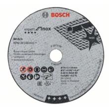 Bosch INOX skæreskiver Ø76 for GWS vinkelsliber