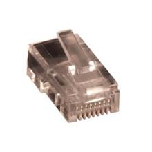 RJ45 modular plug UTP, stiv leder, kat. 5E