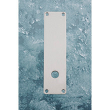 Ruko-Line Langskilt 52mm - dørgrebshul forneden