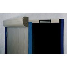 CDVI dørprofil aluminium 925mm - 2x300 kg