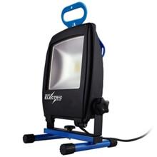 Blue electric arbejdslampe LED, L2800, 30 W, DK stik