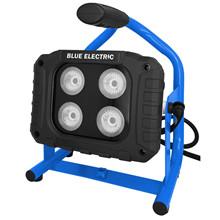 Blue Electric arbejdslampe multi hybrid LED 40w