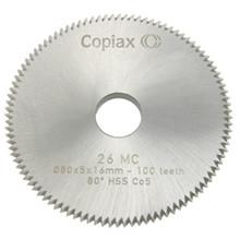 Lockit fræser 80x5x16mm - 100 tænder
