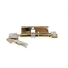 Lockit profilcylinder m/vrider - messing