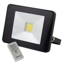 Blue electric slimline LED arbejdslampe med fjenbetjening.