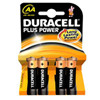 DURACELL AA PLUS POWER         (4 stk.)