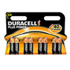 Duracell AA plus power         (8)