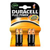 DURACELL AAA PLUS POWER        (4 stk.)