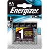 Energizer batteri max plus AA pk. 4 stk